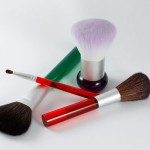 fragranced cosmetic brushes